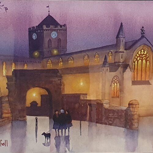 Hexham Abbey, Evening Service