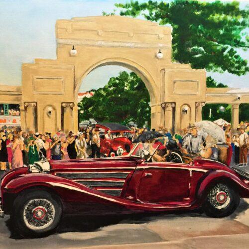 Art Deco Cars, Napier, New Zealand.