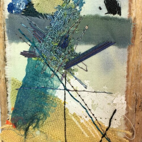 Journey Mapping – new small works in stitch and applique