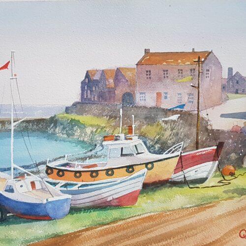 Craster boats
