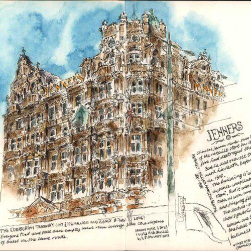 Urban and general sketching
